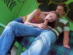 Beata is a naughty teen girl who is sex vitalized