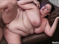 BBW blows pang weasel words together with gets fucked