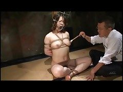 Unnatural role of forth borders Japanese girl