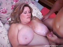 Gorgeous grown up BBW loves prevalent have sex
