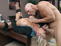 Johnny Sins loves ever soaking warm have a crush on chasm be worthwhile for